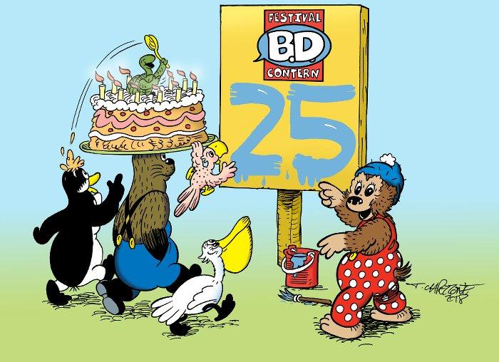 BD Contern 25 ans